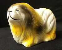 Vintage Made in China Marked Ceramic Dog Figurine