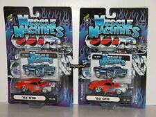 2 2001 #01-89 Different Flames Muscle Machines 1966 Pontiac GTO 66 Variation