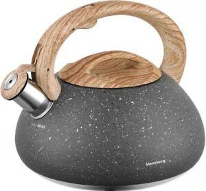 Klausberg KB-7250 2,7L Wasserkessel Flötenkessel Pfeife Teekessel Kaffee | 8667