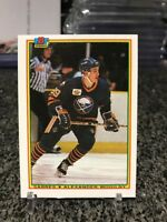 1990-91 Bowman Alexander Mogilny Rookie Card RC Rare Error Misprint Back 1/1!!??