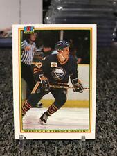 1990-91 Bowman Alexander Mogilny Rookie RC Rare Error Misprint Miscut Back 1/1!?