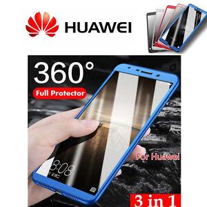 COVER per Huawei P20/ Lite /Pro Fronte Retro 360° ORIGINALE Protezione PREMIUM