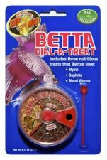 (2 Pack) Zoo Med Labs Food Betta Dial-a-Treat | Mysis Daphnia Blood Worms .12 oz