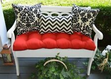 solid - Patio Bench Cushions