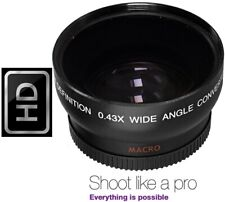 Pro Hi Def Wide Angle Lens With Macro For JVC Everio GZ-MG330