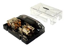 Digital AGU Fuse Power Amplifier Distribution Block (2) 1/0 Ga to (2) 4/8 GA USA