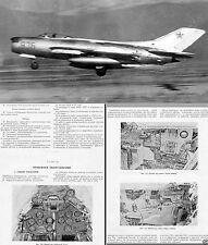 MiG-17 Fresco Mig-19 Farmer 1970's rare historic period archive manuals Vietnam