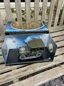 Prestige Jeep Willys US Army 1942 1:18 Diecast Model Car Solido Boxed REF 8075