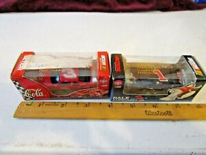 2 Action NASCAR's Dale Earnhardt Jr. #3 Coke 1998 Monte Carlo & #1 Polar Bear