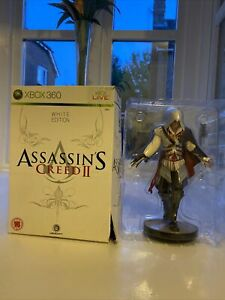 Assassins Creed 2 (white Edition) Ezio Figure - Game NOT included