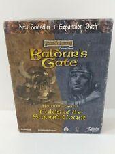 Baldur's Gate Big Box PC Game, With Expansion, Combi Box, Bioware, Interplay.