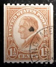 Beautiful 1923 1929 Perforated 10 Horiz 1 1/2c Harding Stamp Scott# 605 J245