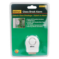Glass Break Alarm Wireless Home Security Vibration Sensor Detector Window Door