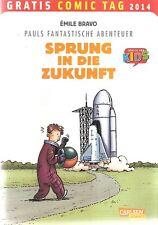 Comic - Vom Gratis Comic Tag 2014 - Pauls Fantastische Abenteuer -  deutsch