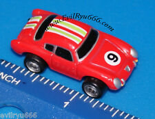 Micro Machines Fiat Abarth Red Car Galoob