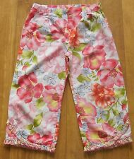 GIRLS BABY LULU 3T FLORAL PANTS VERY BRIGHT PRETTY!!!!!!!!!!!!!!!!!