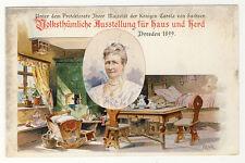 DR-privato tutta caso pp9/c85/04 Dresda 1899-esposizione per casa e fornello
