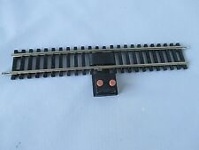HORNBY R8206 POWER CONNECTOR TRACK NICKEL SILVER.(R600 STRAIGHT) EXCELLENT**