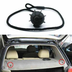 Paar Auto Halteband Kofferraumabdeckung Hutablage Schwarz Für VW Golf MK6 R20