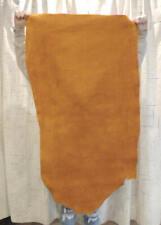 10-11 oz. Sunset Buffalo Leather Hide for Native Sass Crafts Moccasins Buckskins