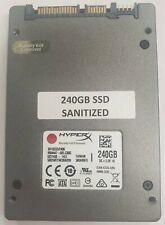 """Kingston HyperX SH103S3/240G 240GB 2.5"""" Solid State Drive SSD // Warranty"""
