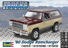 Revell Monogram 4372    1980 Dodge Ramcharger Model Kit 1/24