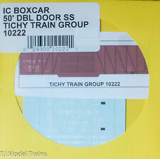 Tichy Train Group #10222 Decal for: Illinois Central 50' Double-Door Single-Shea