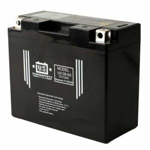 US Powersports US12B-BS - AGM Motorcycle Battery - YT12B-BS