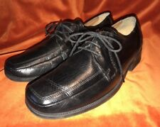 clarks extra wide black leather Oxford lace up shoes size 8.8         AD2//99818