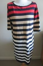 Marcs cotton striped dress, Size L, AUS 10-12, NWT