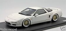 1/18th Ignition Model Honda NSX (NA1) White BBS Wheel, MR BBR