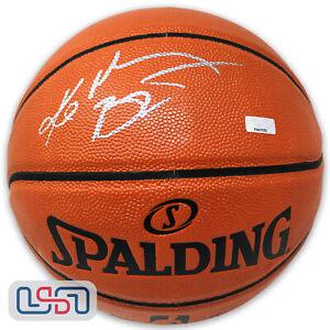 Kobe Bryant Lakers Autographed I/O NBA Spalding Game Basketball Panini Auth