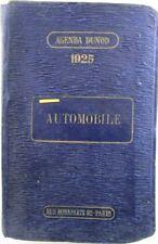 X 1803 AGENDAS DUNOD – AUTOMOBILE DI GABRIEL LIENHARD – TESTO IN FRANCESE – 1...