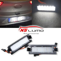 Led License Number Plate Lights Lamps For Hyundai I30 GD White Canbus Tail Lamp