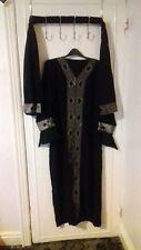 *NEW* Dubai Kimono Abaya Jilbab Farasha Burkha Jubah Long party Dress Size L