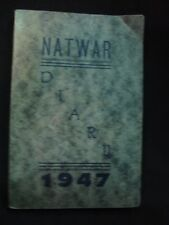 Old Vintage Pocket Diary from India 1947