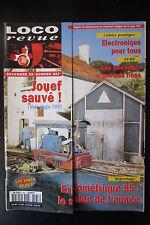 MODELISME FERROVIAIRE TRAIN MAGAZINE LOCO REVUE N° 587 de 1995