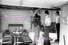RONNIE PETERSON LOTUS JPS F1 Ritratto British Grand Prix 1978 fotografia 3