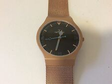 new ToyWatch Rose gold tone stainless steel fresh battery