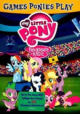 NEW DVD // MY LITTLE PONY // FRIENDSHIP IS MAGIC // GAMES PONY PLAY // 132 min
