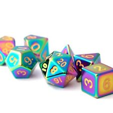 7 Count 16mm Flame Torched Rainbow Dice NEW IN STOCK