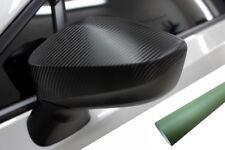 PREMIUM ESPEJO Carcasas Tapa Diseño lámina ARMY VERDE para muchos vehículos