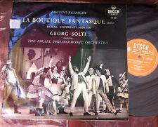 LXT 5341 ROSSINI-RESPIGHI - La Boutique Fantasque / DUKAS SOLTI