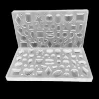 Polymer Clay Silicone Mold UV Epoxy Resin Mould for Earring Jewelry Making Tools