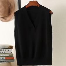 Womens Knit Sweater Vest Warm Pullover Knitwear Outwear Sleeveless Casual Tops