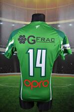 WOLFHOUNDS FI-TA #14 IRELAND RUGBY LEAGUE SHIRT (S) JERSEY TOP MATCH WORN? WALES