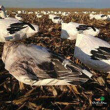New White Rock Headless Juvy Snow Goose Wind Sock Hunting Decoys Per Dozen