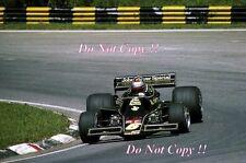 Mario Andretti JPS Lotus 77 Brazilian Grand Prix 1976 Photograph 2