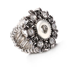 Jewelry Ring Drill Snap Charms For 12mm Noosa Snap Button NJ06