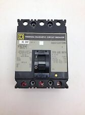 Square D Sfal3040 Thermal Magnetic Circuit Breaker 40A 3P #6190